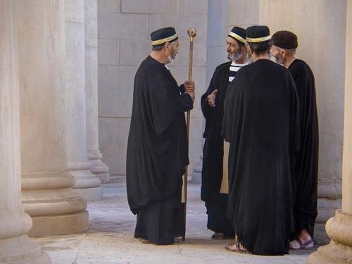 The religious leaders plot Lazarus' murder.
